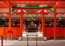 Capilla sintoísta japonesa Fotografía de archivo libre de regalías