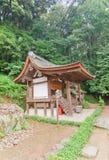 Capilla subordinada de Kasuga de la capilla sintoísta de Ujigami en Uji, Japón Fotos de archivo libres de regalías