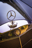 Capilla vieja del motor de Mercedes-Benz Imagen de archivo libre de regalías