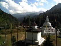 Capillas butanesas Foto de archivo libre de regalías