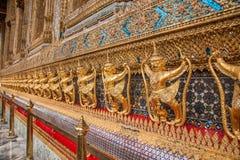 Capillas magníficas de Wat Phra Kaew del palacio de Bangkok, Tailandia Foto de archivo