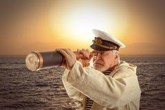 capitán Fotos de archivo libres de regalías