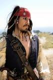 Capitán Alert del pirata imagenes de archivo