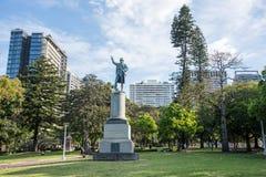 Capitán Cook Monument - Hyde Park imagen de archivo
