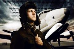 Capitán de los cielos imagen de archivo libre de regalías