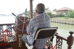 Capitán del barco Imagenes de archivo
