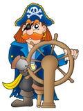 Capitán del pirata Foto de archivo libre de regalías
