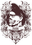 Capitán del zombi Imagen de archivo