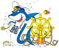 Capitán Shark libre illustration