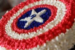 Capitão América Fotografia de Stock Royalty Free