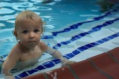 Capitão da equipe de nadada Imagens de Stock