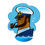 Capitão de mar Imagens de Stock Royalty Free