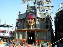 Capitão Jack do barco em Marmaris Fotografia de Stock Royalty Free