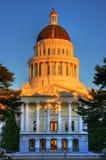 Capitólio de Sacramento Fotografia de Stock Royalty Free