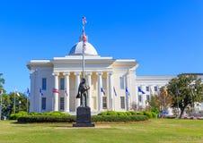 Capitólio de Statue Alabama State do agente da polícia Imagem de Stock