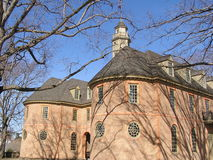 Capitólio do Colonial de Virgínia Fotos de Stock Royalty Free