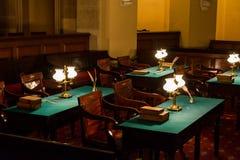 Capitólio do congresso do Estados Unidos sala de reunião subterrânea do primeiro olá! imagens de stock royalty free