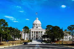 Capitólio do estado de Alabama fotografia de stock