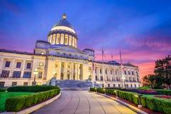 Capitólio do estado de Arkansas Imagens de Stock Royalty Free