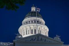 Capitólio do estado de Califórnia Imagem de Stock