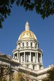 Capitólio do estado de Colorado Fotos de Stock Royalty Free
