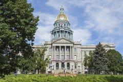 Capitólio do estado de Colorado fotos de stock