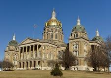 Capitólio do estado de Iowa imagem de stock