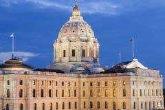 Capitólio do estado de Minnesota em St Paul imagem de stock
