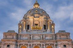 Capitólio do estado de Minnesota em St Paul foto de stock royalty free