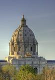 Capitólio do estado de Minnesota no por do sol Fotografia de Stock Royalty Free