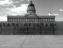 Capitólio do estado de Utá na noite 1 Fotos de Stock