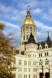 Capitólio do estado em Hartford, CT imagens de stock