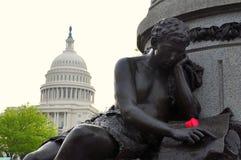 Capitólio dos E.U., Washington DC, EUA Fotos de Stock
