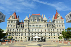 Capitólio dos Estados de Nova Iorque, Albany, NY, EUA Foto de Stock Royalty Free