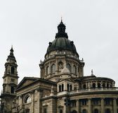Capitólio em Budapest imagens de stock