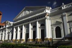 Capitólio nacional no centro de Caracas Fotografia de Stock