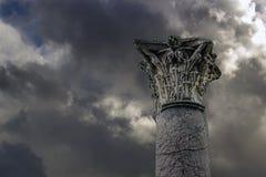 Capita compuesta romana antigua foto de archivo
