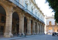Capitain Palace哈瓦那旧城Architectre将军 图库摄影