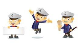 Capitaine 1 Images libres de droits