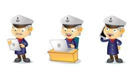 Capitaine 3 Image libre de droits