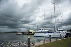 Capitaine Cook Cruises Fiji images stock