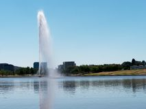 Capitaine Cook Memorial Fountain Photos stock