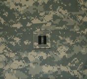 Capitaine d'armée Rank sur l'ACU Image libre de droits