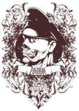 Capitaine de zombi illustration stock