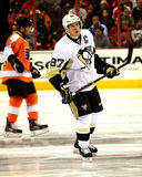 Capitaine Sidney Crosby de Pittsburgh Penguins Photos stock
