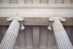 Capitais de colunas Neoclassical Foto de Stock Royalty Free