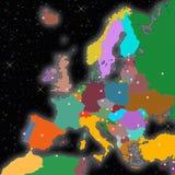 Capitais de Europa Fotos de Stock Royalty Free
