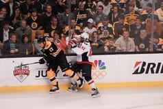 Capitais dos Bruins v Capitais, 2012 eliminatórias Imagens de Stock