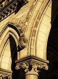 Capitais e arcos Imagens de Stock