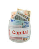 Capital Photographie stock
